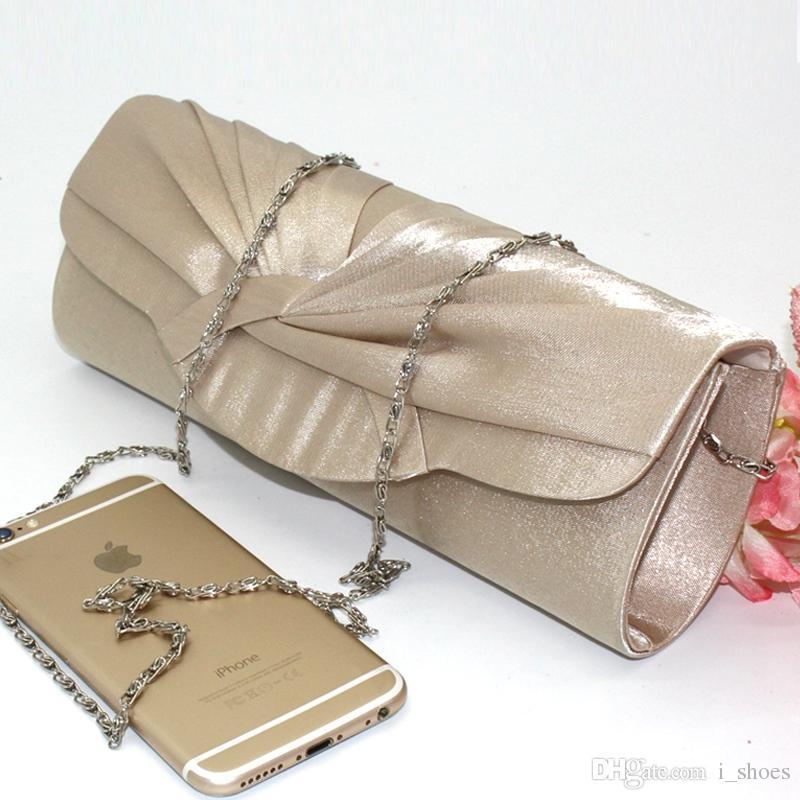 43a339044 Fashion Womens Satin Clutch Purse Wedding evening purse