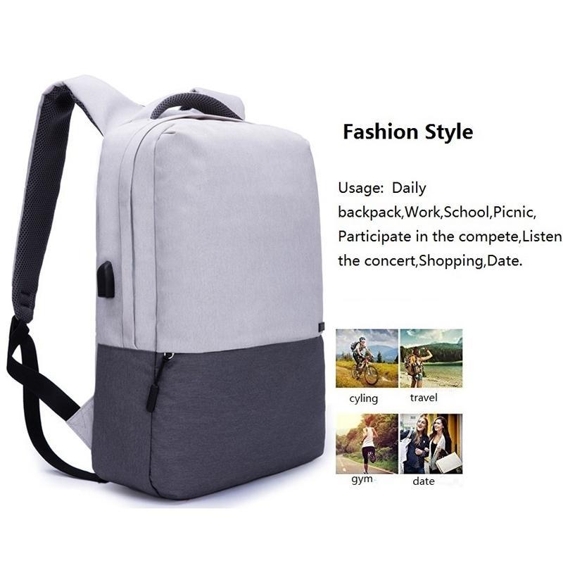 344824e6936 ABDB TINYAT Men Laptop Backpack For 15 Inch USB Charger Backpacks Computer  Anti Theft Bag Pack Unisex School Backpack Bag Trav School Bags Messenger  Bags ...