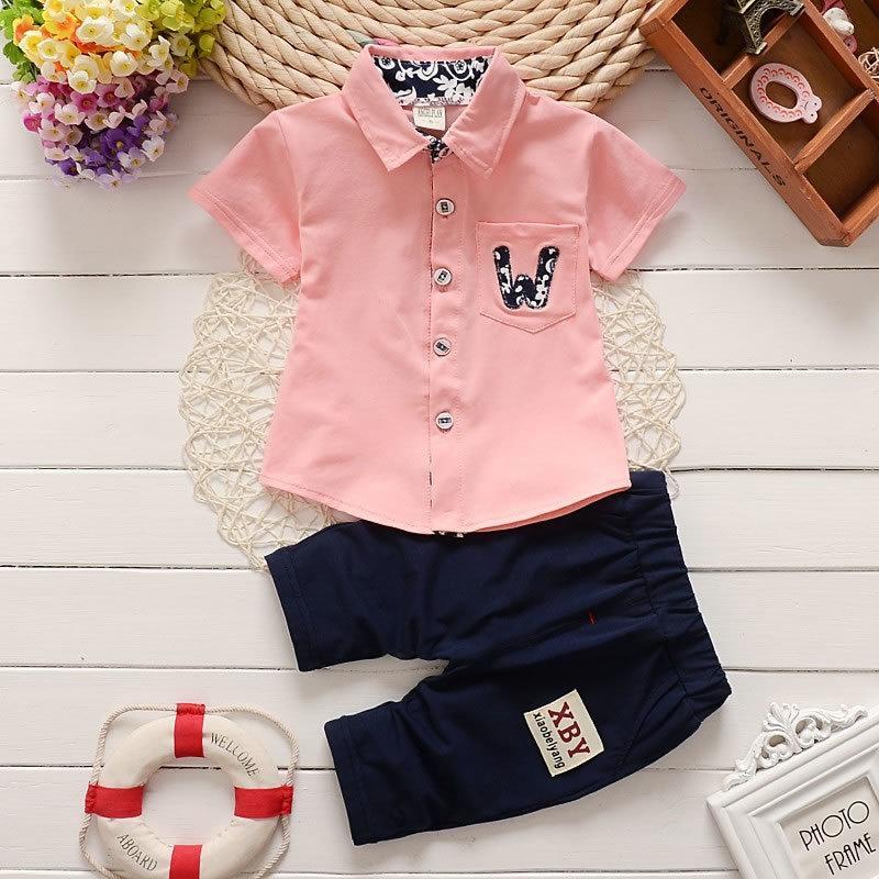 9b73ad45b9a86 good quality 2019 summer hotsale baby boys clothes sets kids fashion  clothing set child t-shirt+pants infant boys suit