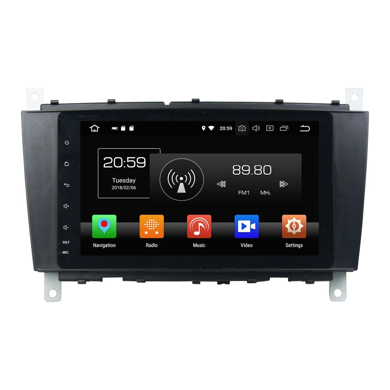 PX5 Octa Core 8 Android 8 0 Car DVD Radio GPS for Mercedes Benz C-Class  W203 /CLC G Class W467 WIFI Bluetooth Mirror-link 4GB RAM 32GB ROM