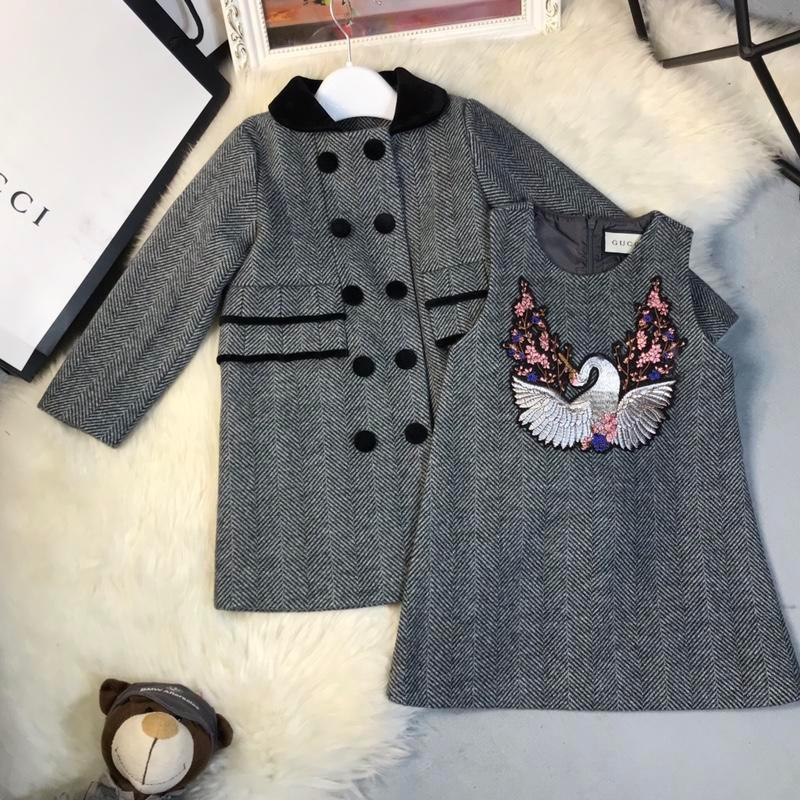 4aedce20d Two Piece Skirt Set Baby Korean Children Clothing Winter New In Will ...