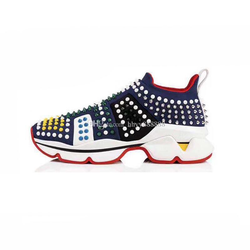 fa1f6cd82b8 2019 NEW WOMEN MAN MENS MANS HOT Designer Sneakers Red Bottom Shoe Luxury  Shoes For Men And Women Shoes Wedding Crystal Leather Casual Shoes Footwear  Sport ...