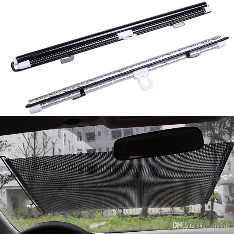 50/58/45*125cm Auto Retractable Side Window Car Sun Shade Curtain Windshield Sunshade Shield Cover Mesh Visor Shield for Cars