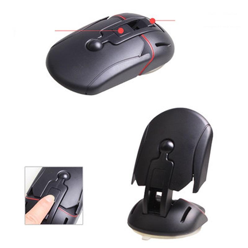 Nuovo supporto per auto Mobile Car Supporto per mouse universale Creative  Sucker Mouse Holder mobile montato sul rack del telefono cellulare