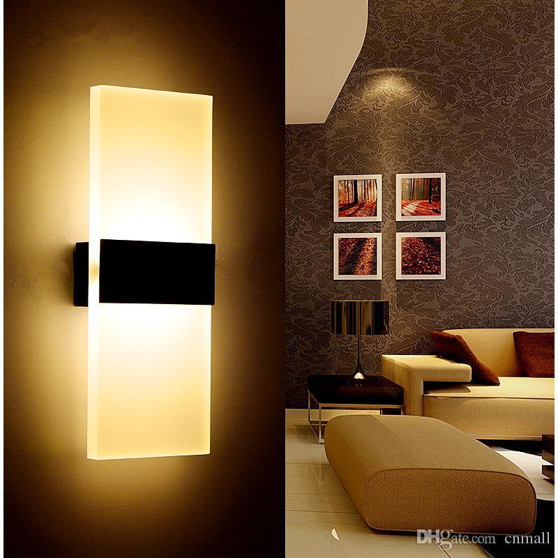 Acheter Moderne Applique Led Appliques Murales Interieures Led