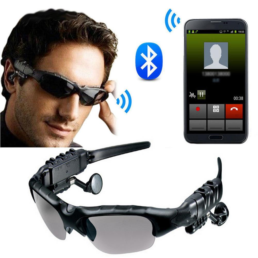 Smart Wireless Bluetooth Outdoor Sports Sunglasses With Headphone Earbuds Telephone Music Sun Glasses for men and women