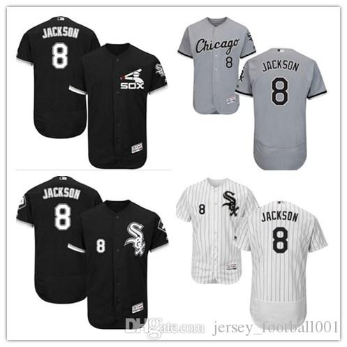 f027d98d8bd 2019 Chicago White  8 Bo Jackson Jersrys Sox Men WOMEN YOUTH Men S Baseball  Jersey Majestic Stitched Professional Sportswear From Jersey football001