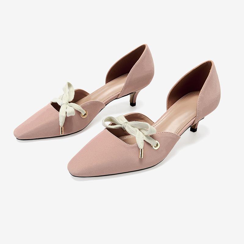 9a474c8bc7 Women Loafers High Heel Designer Bowknot Women Dress Shoes Sexy ...