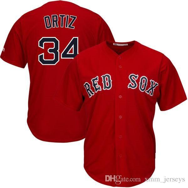 2019 Top 34 David Ortiz Jersey Mens Boston Red Sox Baseball Jerseys Cheap  Wholesale Stitched Logos From Topmensjersey2018 be1a360d915
