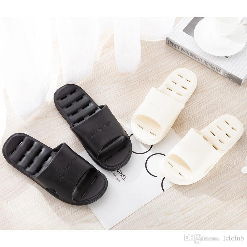 hzd006 newest Popular comfortable Flat shlippers mens Clearly sandals womens summer cool beach slippers with box size 38-45