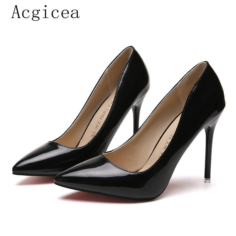 Designer Dress Shoes 2019 New Fashion Pumps High Heels Shallow