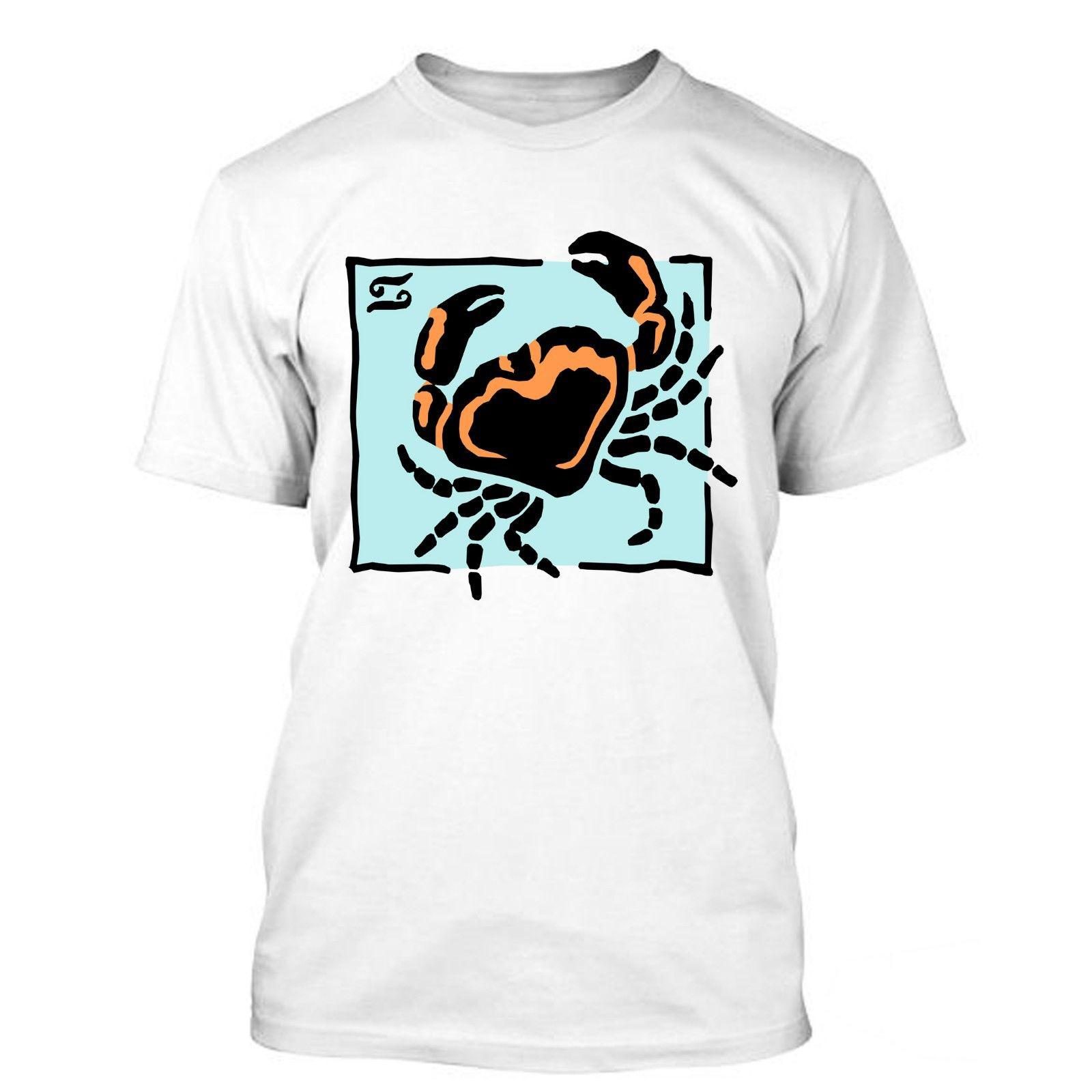 Cancer I Love Zodiac Sign Horoscope Funny T Shirt Tees Wholesale Discount  Croatia Leather Tshirt