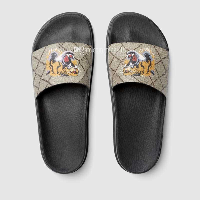 373bb25c802732 Men Sandals Women Designer Sandals Shoes Luxury Slide Summer Fashion Wide  Flat Slippery Sandals Slipper Flip Flop With Box Girls Shoes Bearpaw Boots  From ...