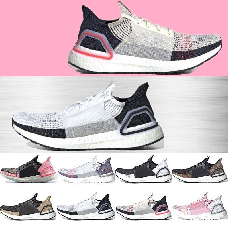 la meilleure attitude a549f cb247 Ultra boost pas cher 19 chaussures de course pour hommes femmes Oreo  REFRACT True Pink ultraboost baskets respirant sport taille 36