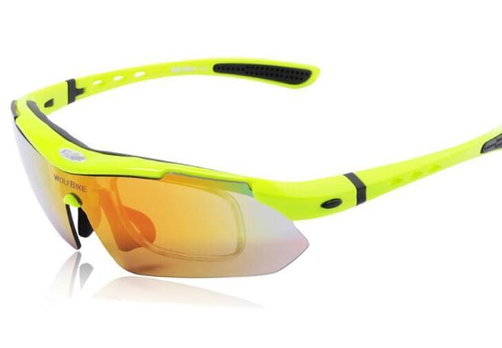 ff90d4b71b WOLFBIKE Lentes Polarizadas Gafas De Sol Gafas De Sol Espejo Deportes Al  Aire Libre Gafas Anti UV 5 Lentes Por Bunner, $25.21 | Es.Dhgate.Com