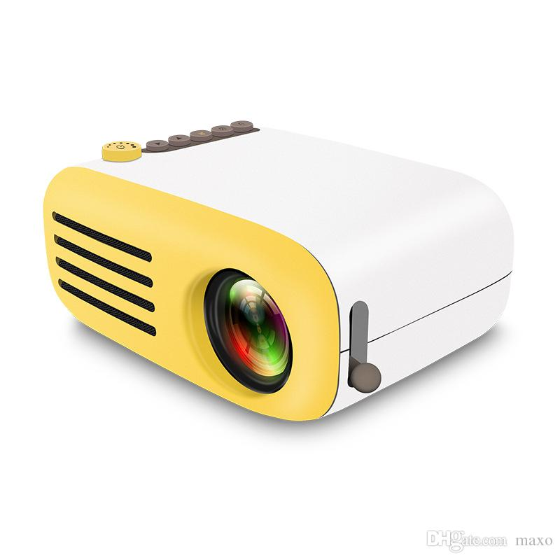 d187ade46d7d15 2019 AAO Portable Mini LCD LED Projector YG200 YG 200 400 600LM 1080p Video  320 X 240 Pixel Best Home Wireless Remote Control Proyector From Maxo, ...