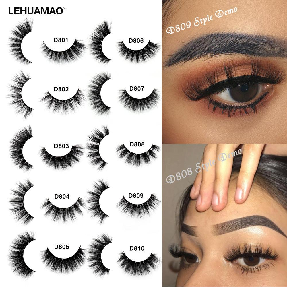 f36aa08d085 LEHUAMAO Mink Eyelashes 3D Mink Lashes Thick HandMade Full Strip Lashes  Cruelty Free Mink Lashes 13 Style False Eyelashes Makeup D19011701  Permanent ...