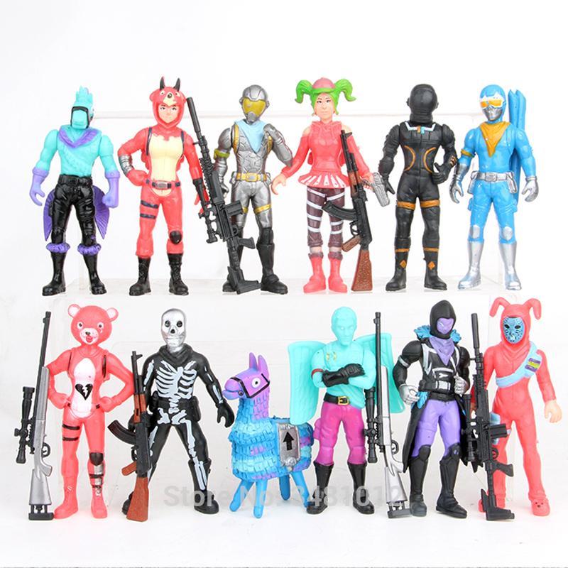 Jouets Jeux Lama Figurines Fortnited Personnages Enfants Pour Battle Armes Royale Fama Quinzaine C19041501 Pvc Infant 8XOkN0ZnwP