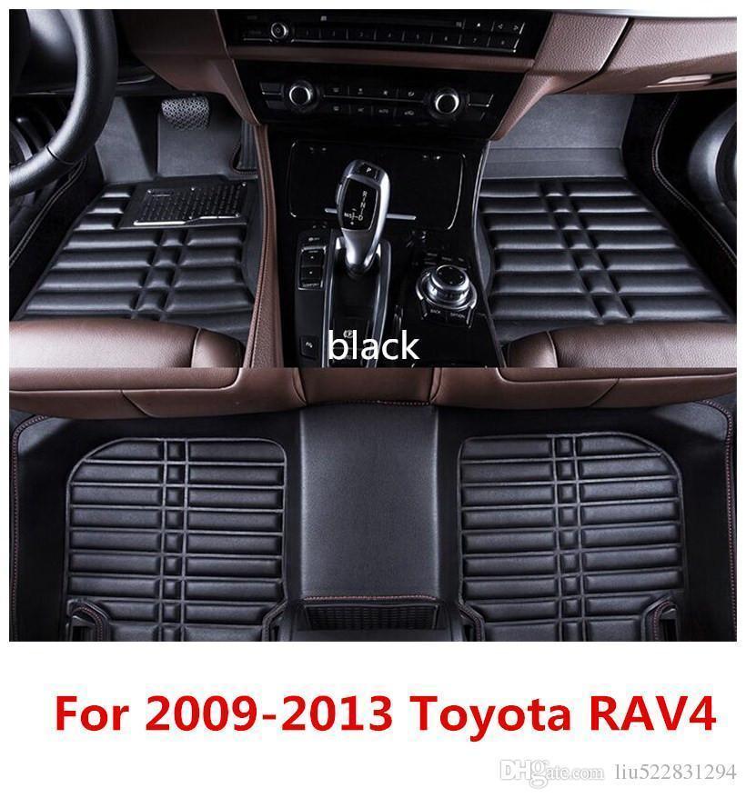 Smartliner 2008 2019 Toyota Sequoia Floor Mat Custom Liner: Toyota Rav4 Floor Mats All Weather