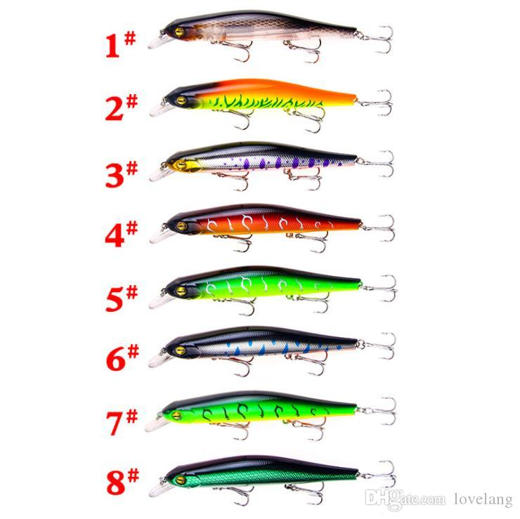 Fishing Lures Wobblers Swimbait Crankbait Hard Bait Isca Artificial Fishing Tackle Lifelike Lure LA01