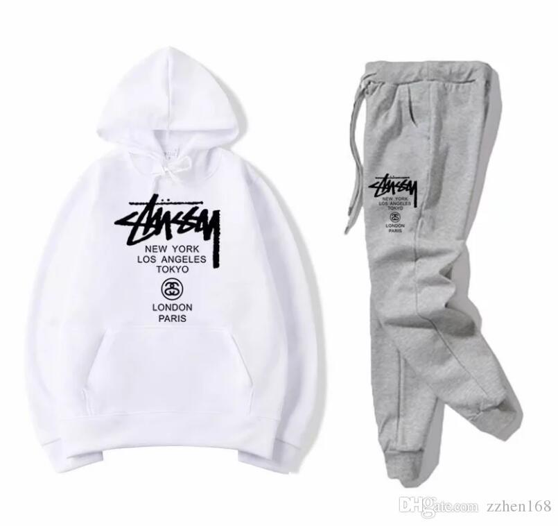Best Selling Designer Tute da uomo tute di lusso autunno Mens di marca Jogger Suits Jacket + ansima gli insiemi Sporting Completi donna Hip Hop Set