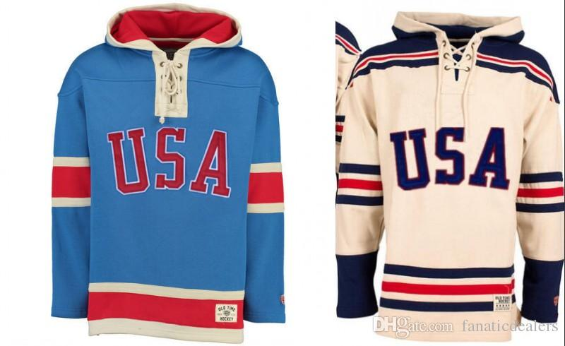 2019 Hockey Jersey Hoodies 1980 Miracle On Team Usa Ice Hockey Jerseys  Custom Any Name Any Number Stitched Hoodie Sports Sweater From  Fanaticdealers 7e4c8f7271a