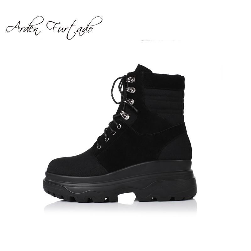 b87f989bb Compre Sapatos De Moda Feminina De Lazer No Inverno 2019 Novidade ...
