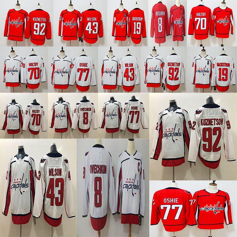 2018 Stanley Cup Champions 8 Alex Ovechkin 43 Tom Wilson 77 T.J. ... e13c0150408b7