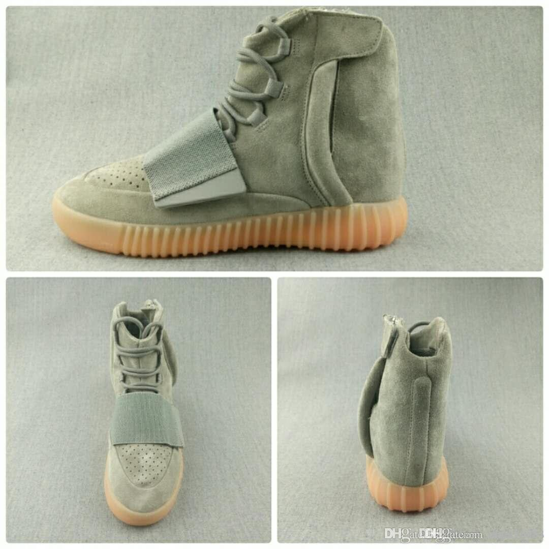 big sale 57672 a522d Actual shooting Adidas Yeezy 750 Boost V1.0 Light in Dark Kanye West Shoes  Sneakers 750 Boost Men's Women's Sports and Leis