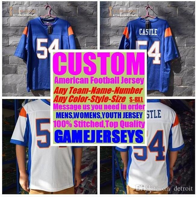 69a50d4f71d 2019 Personalized American Football Jerseys College Cheap Authentic  Baseball Sports Jersey Stitched Mens Womens Youth Kids 4xl 5xl 6xl 7xl American  Football ...