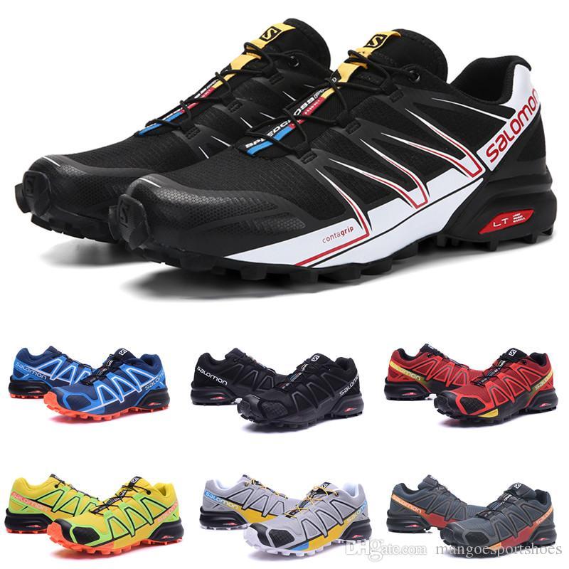 buy popular 8f5b1 eb01b Wholesale Salomon Cross 4 Sense Ultra runner Soft Ground wings fashion  Running Shoes sneaker man jogging Athletic Shoes Mens Sports Sneaker