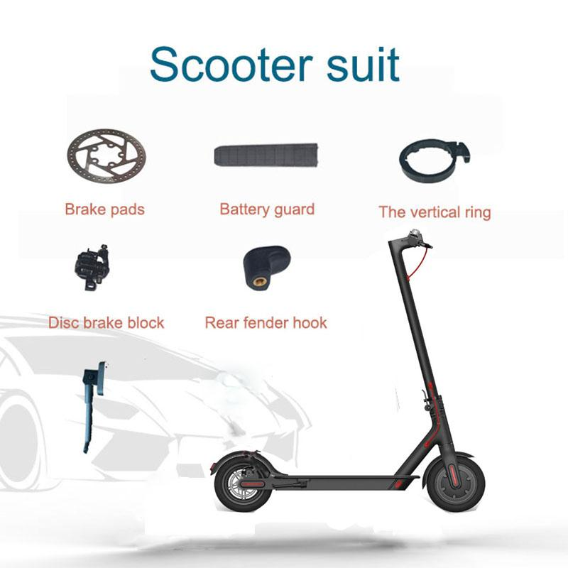 Repair Parts for Xiaomi Mijia M365 Electrical Kickscooter Mud Fender Brake  Disc Handle, Battery Protection Plate
