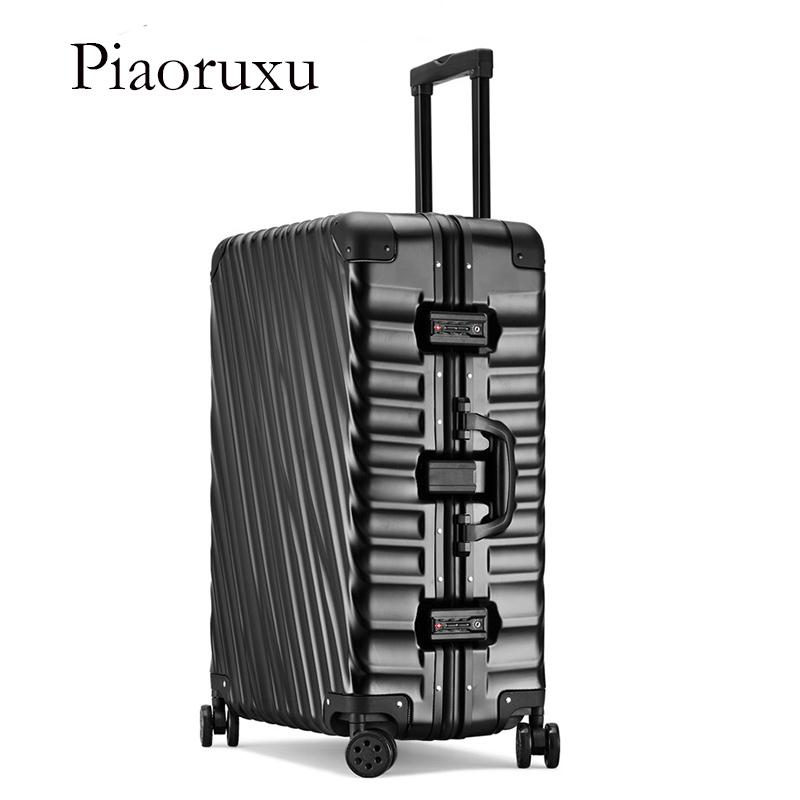 53574f836893a3 Piaoruxu 202529 Inch 100% Aluminum Alloy Business Travel TSA Lock Cabin  Trolley Suitcase Carry On Luggage Toddler Suitcase Child Suitcase From  Diyplant