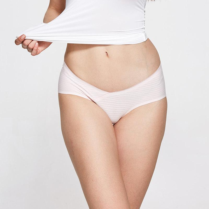 Seamless Panties Cotton High Quality Soft Brief Women Elastic Underwear Girls Natural Color Lady Underwear