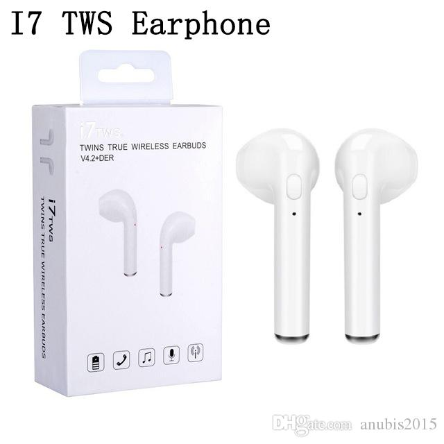 6b0d6dfda55 HBQ I7 Twins Wireless Earbuds Earphone Mini Bluetooth V4.2 Stereo  Headphones Earphones For Iphone X 8plus 7 6s 6 Plus Galaxy S8 Earbuds For  Running ...