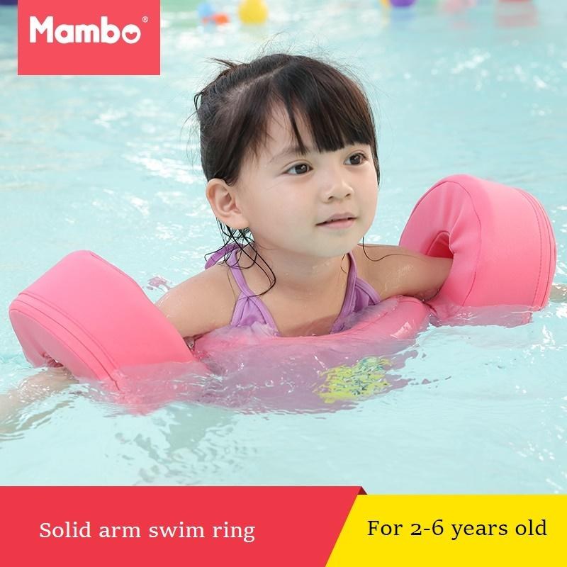 Foam Pool Float Swimming Discs Buoy Arm Bands Floating Sleeves Free  Inflatable Board Swimming Exercises Circles Rings