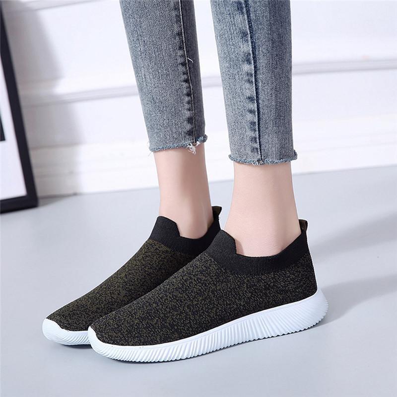 Compre Nueva Moda Pareja Zapatos De Mujer Casual Seankers Zapatos Blancos  Con Cordones De Las Señoras Zapatos Deportivos Mujer Zapatillas De Deporte  Para El ... 6d20e5e95be