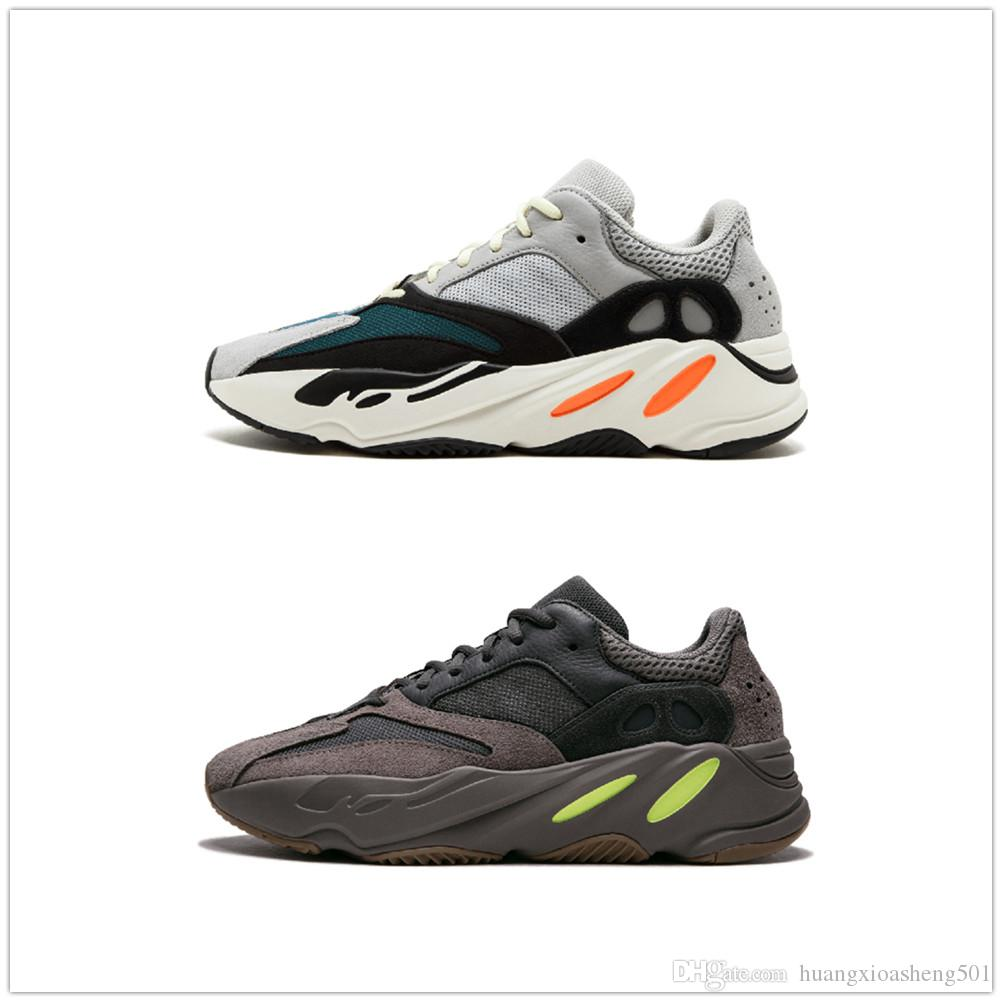 5b394575f05 Top Quality Kanye West 700 Wave Runner Mauve EE9614 B75571 Running ...