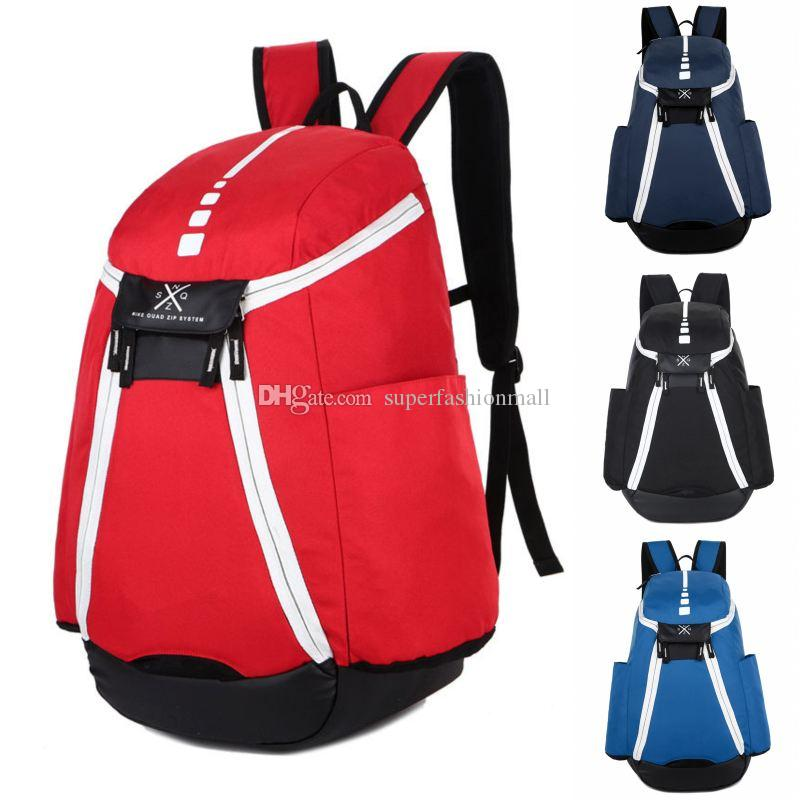 Brand New Team USA Backpack 19ss Mens Womens Designer Bags Teenager Blue Red Outdoor Basketball Backpack 4 Colour