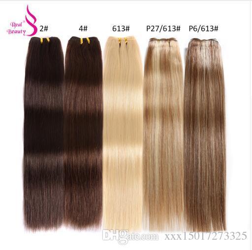 Black Pearl Pre-colored Yaki Straight Human Hair Bundles Brazilian Hair Weave Bundles Hair Extension 1 Bundle Hair Weft 100g 1b# Hair Weaves