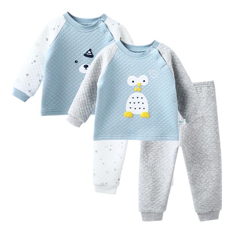 the latest 74404 1e411 2 sätze / los Jungen Kleidung Winter Kinderkleidung Mädchen Warme Herbst  Kleidung Für Mädchen Kinder Pyjamas Sets Nachtwäsche J190513