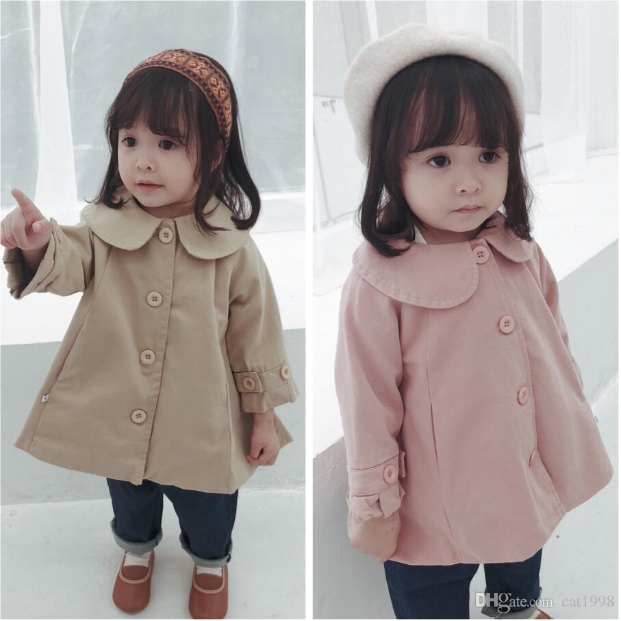 5892943c36c3 Baby Girl Coat Autumn And Winter 2018 New Girls 1 3 Years Old ...