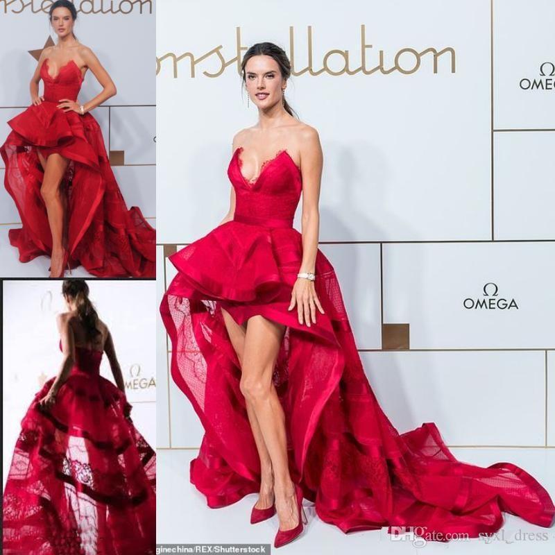 819f05ac386 2019 High Low Plus Size Engagement Prom Dresses Abendkleider Long Arabic Evening  Formal Dresses 2018 Robe De Mariee Pink Prom Dress Plus Size Prom Dress ...