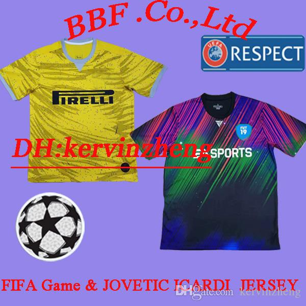 Thailand 1920 FLY soccer jersey world team national Game JOVETIC ICARDI PALACIO KONDOGBIA MEDEL CANDREVA SERIE A Inter football shirt
