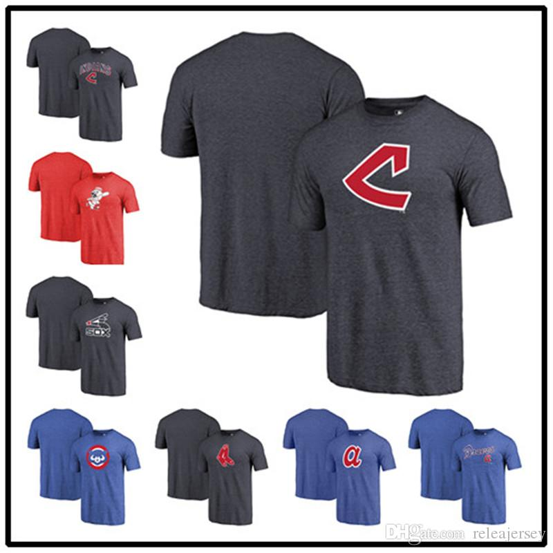 purchase cheap a3e6a ac3b5 Indians Reds White Sox Cubs Red Sox Braves Vintage Cooperstown Collection  Wahconah Tri-Blend Huntington baseball T-Shirt