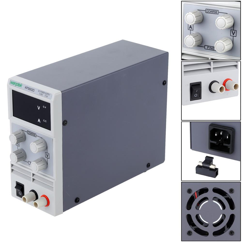 Mini DC Power Supply Switching Display 3 Digits LED 0-60V 0~3A Precision Variable Adjustable AC 110V/220V 50/60Hz