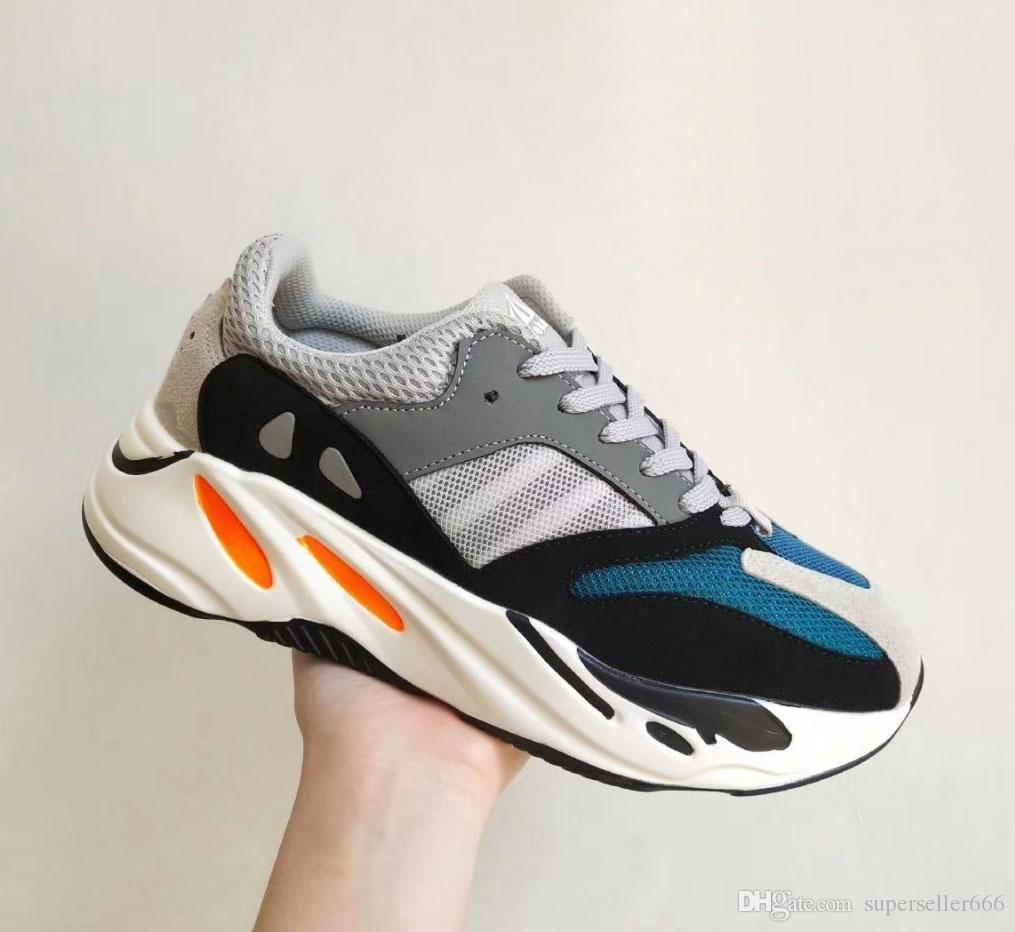 Yz 700 B75571 WAVE RUNNER Running Shoes Sneakers Trainers Sneaker Trainer Men Women Fashion Shoe