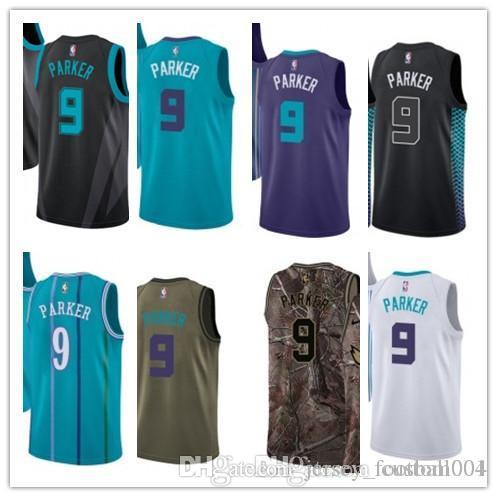 lowest price 3567d 24938 custom 2019 Charlotte Hornet Jerseys #9 Tony Parker Jerseys  men#WOMEN#YOUTH#Men's Baseball Jersey Majestic basketball jersey