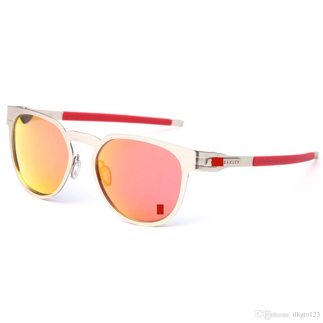 b08ffca509 Nuevas Gafas De Sol De Metal 4137 UV400 Lente Polarizada Gafas De ...