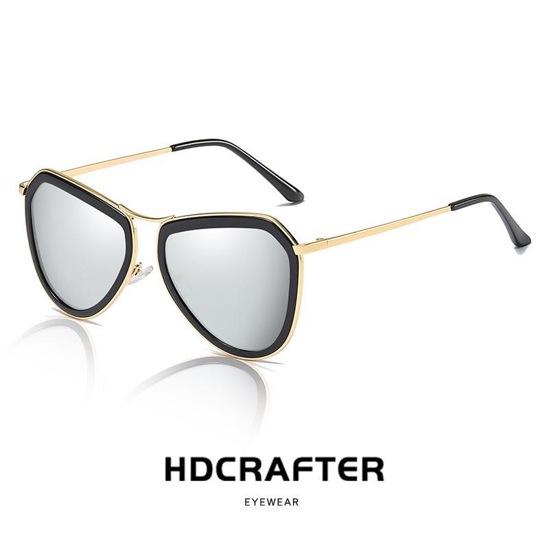 ac9a98e160 Compre Moda Gafas De Sol Clásicas Para Mujer Con Espejo De Conducción  Polarizado 2019 NUEVO Piloto Gafas De Sol Para Damas Diseñador De La Marca  Unisex ...